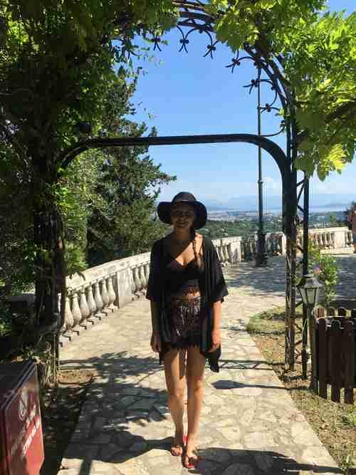 Achillion Palace Archway