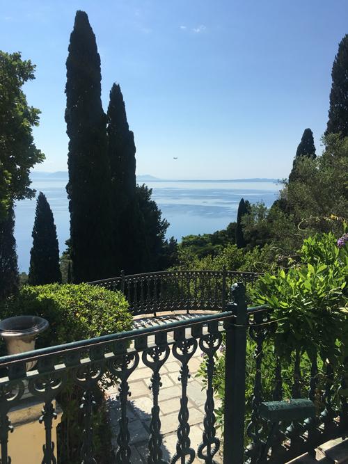 Achillion Palace Views