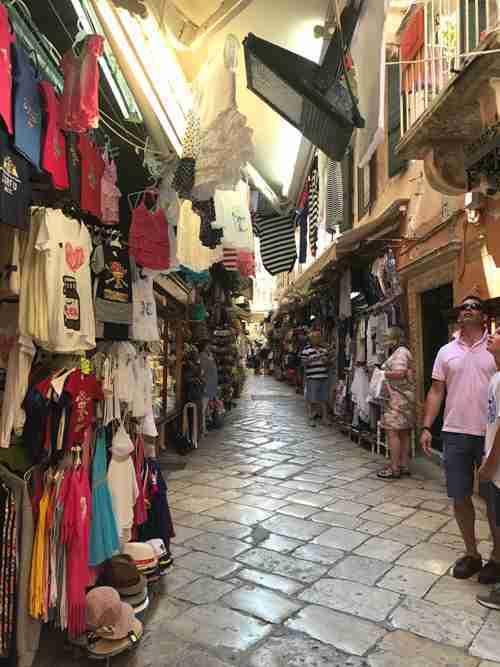 Corfu Town Shopping