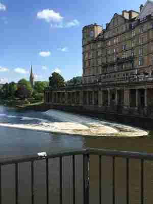 walk along the river in Bath