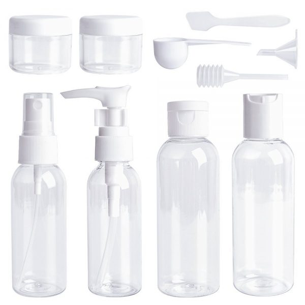 Travel clear carry on bottles hang luggage