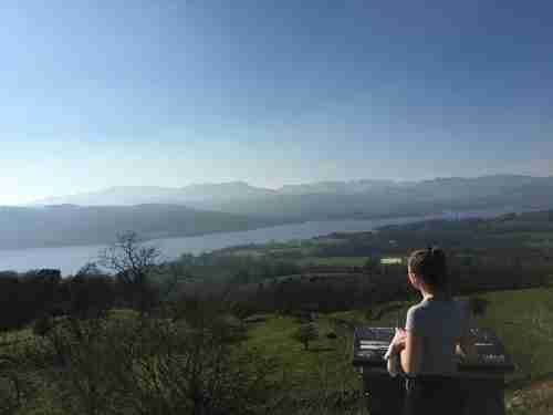 Kirsty's view of the Lake District